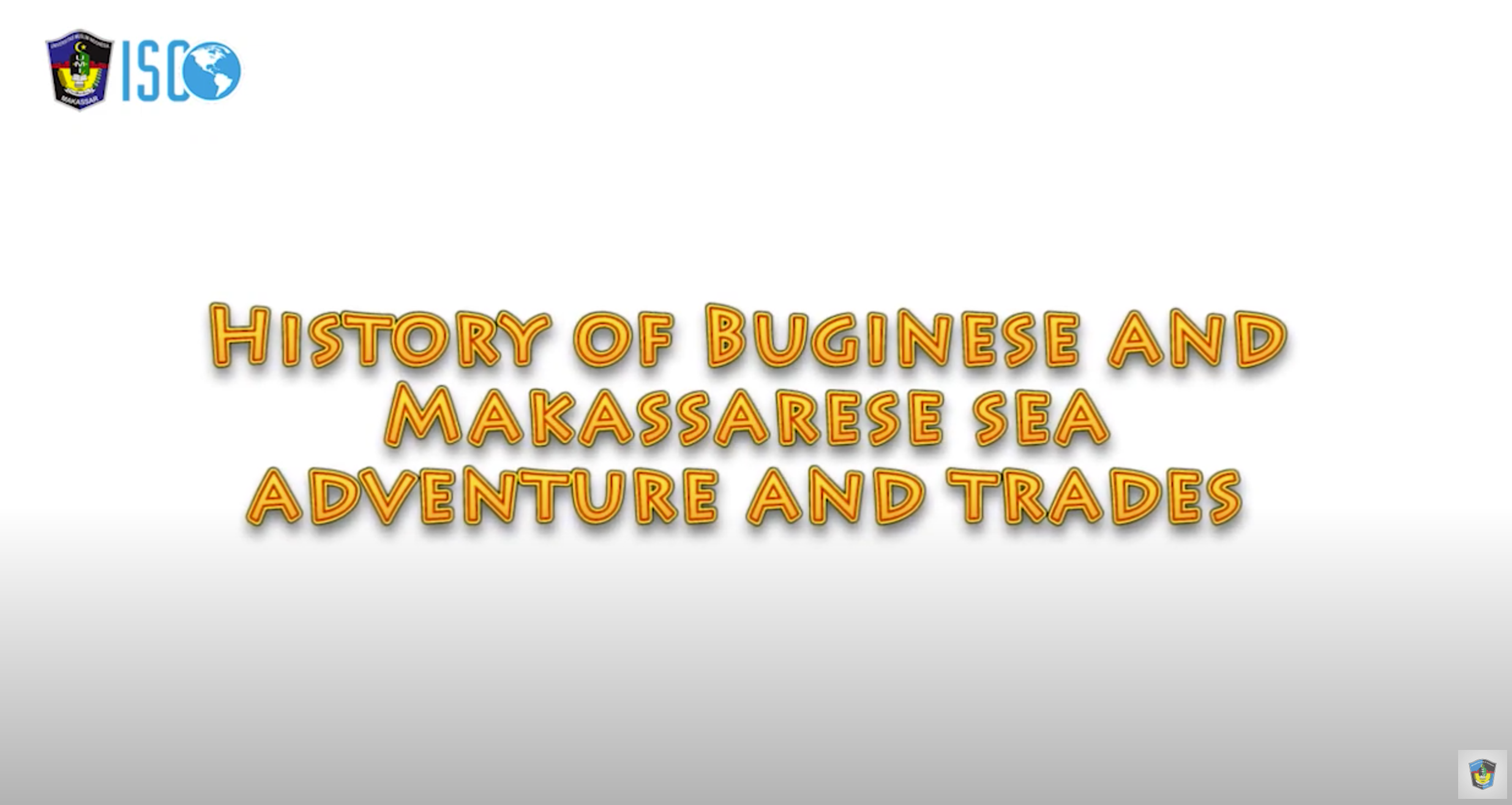 History of Buginese and Makassarese sea adventure and trades